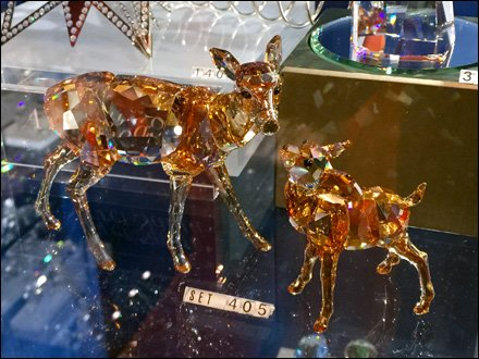 Swarovski Deer and Fawn 1