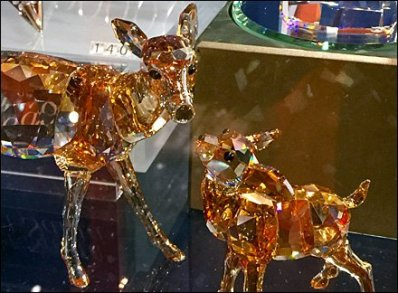 Swarovski Deer and Fawn 2