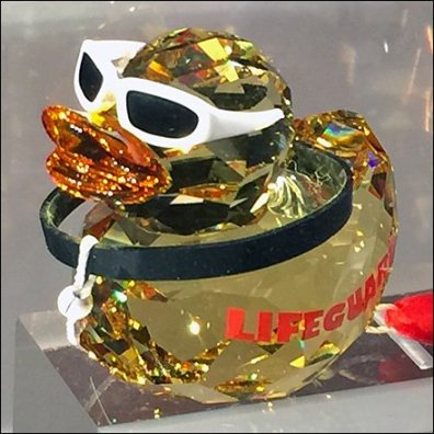 Swarovski Duck as LifeGuard Main