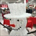 TJMaxx Itinerant Snowmen Work Retail