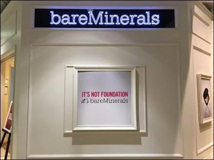 Bare Minerals Store Branding by Shiseido