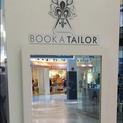 Book-a-Tailor Shirt Kiosk