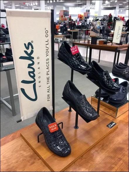 Clarks Shoe Plug-in Pedestals
