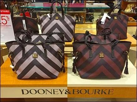 Dooney & Bourke Retail Fixtures - Dooney & Bourke Dazzle Paint Bi Polar Branding