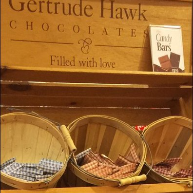Gertrude Hawk Rustic Branding By Basketful