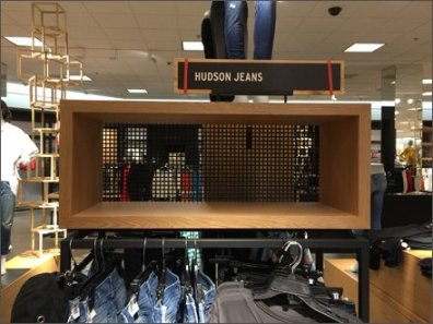 Hudson Jeans Square Hole Perforated Metal 1