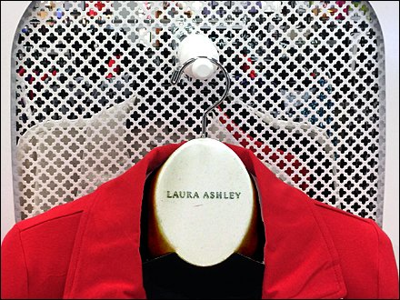 Laura Ashley Branded Clothes Hanger