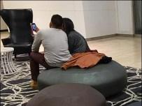 Mall Mushroom Store Seating Selfie Spells Romance