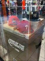 Museum Case Baseball Cap Pedestal Tall
