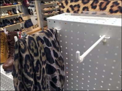 Perfed Metal Pegboard Box Hook 1