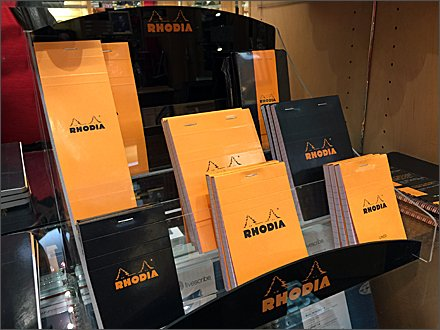 Rhodia Journal Display 1