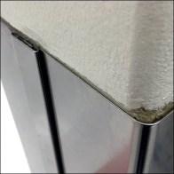 Stainless Steel Column Guard Detail