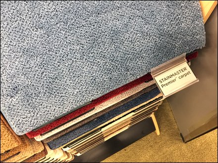 Stainmaster Carpet Sample Tabs 1