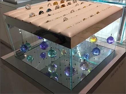 Swarovski Crystal Branded Ball Hang