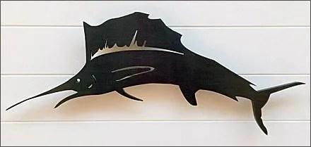 Tommy Bahama Storefront Swordfish Branding