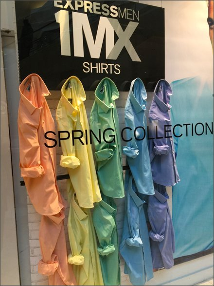 Express Spring Collectio Color Array Aux