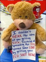 Flu Bear In-Store Vaccination