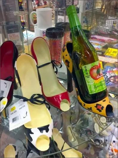 High Heel Wine Bottle Caddy 1