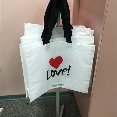 Love Branded Bag David's Bridal Main