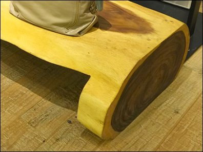Natural Log Plank Furnishings 3