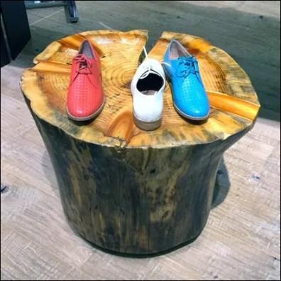 Natural Log Stump Furnishings Aux