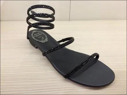 Rene Caovilla Coil Spring Sandals 3