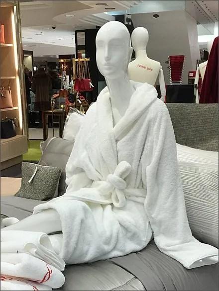 Sleeping it Off In-Store Bath Robe