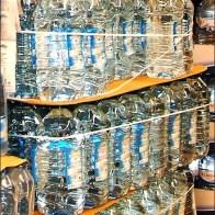 Bungee Corded Bottles Water Main