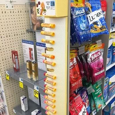 Burt's Bees Corugated Strip Merchandiser 1