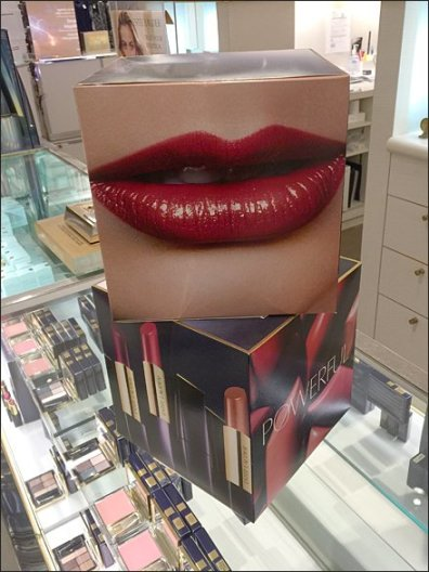 Estee Lauder Powerful Branded Box Lips