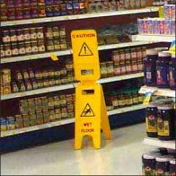 Euro Fixture™ Stackable Safety Signs