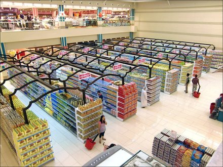 Middle-East Store Fixtures Arabic SuperMarket Decor - Middle East Morrish Pergola Main