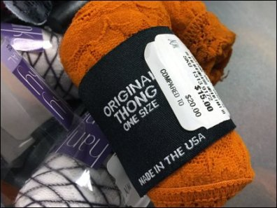 Original One-Size Thong Sale