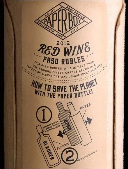 Paper Wine Bottle Sales