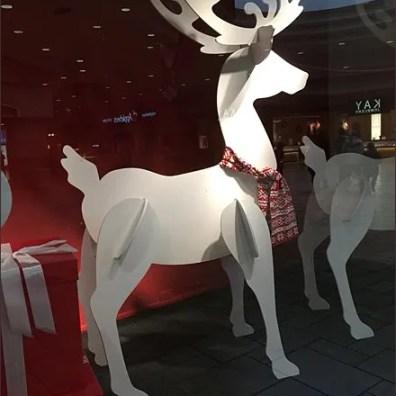 Plywood Parade of Christmas Reindeer