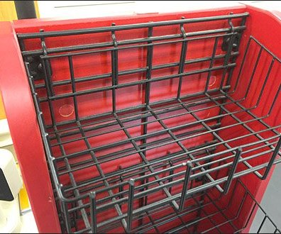 Open Wire Baskets for Slatwire