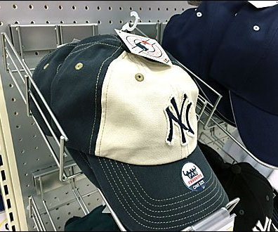 Baseball Cap Declined Tray Pegboard-Bar Main