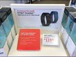 FitBit WristBand Right Angle POP Display Aux
