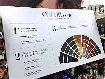 Haircolor Color Codes Main