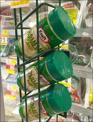 Kraft Parmesan Cooler-Door Merchandiser Rack