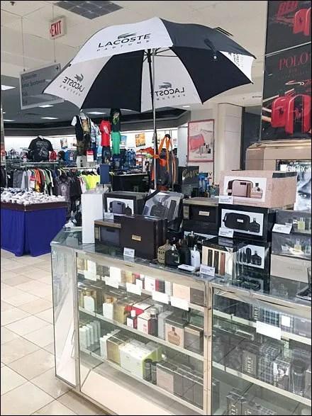 Day Close Parfums Umbrella Lacoste Up Display – Rainy Fixtures Rj54AL