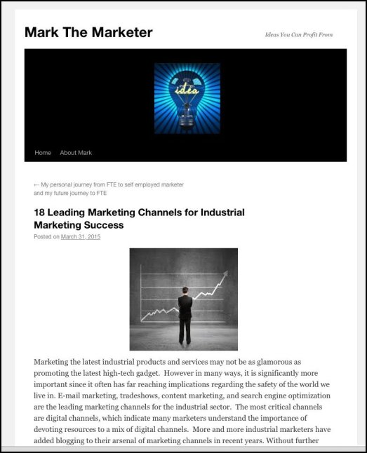 Mark Gottlieb 18 Leading Marketing Channels for Industrial Marketing Success | Mark The Marketer