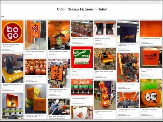 Orange Fixtures in Retail on Pinterest FixturesCloseUp
