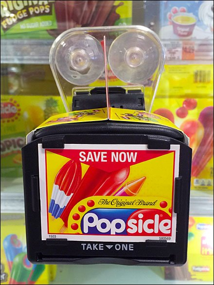 Save Now On the Original Popsicle Brand Door Couponer