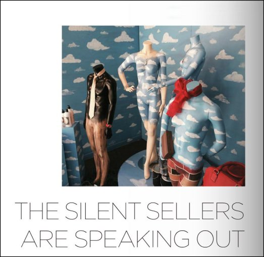 """The Silent Sellers Are Speaking Out"""