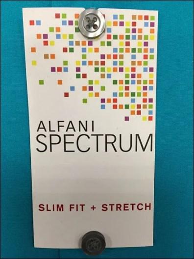 Alfani Spectrum Dress Shirt Multilevel Branding 3