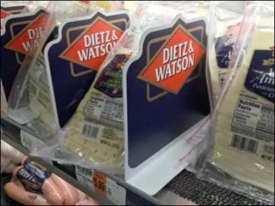 Dietz and Watson Branded Cooler Divider 3