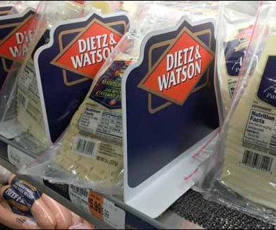Dietz and Watson Branded Cooler Divider 3