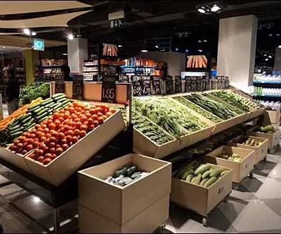 European Rectangular Produce Bins