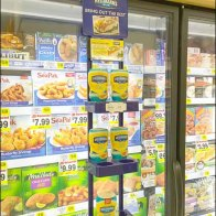 Hellman's Cooler Door Cross-Sell Tray